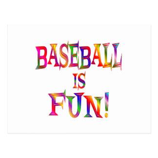 Baseball is Fun Postcard