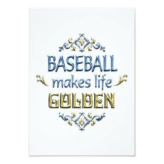 BASEBALL is Golden Invite