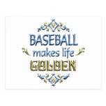 BASEBALL is Golden Postcard