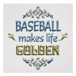 BASEBALL is Golden Print