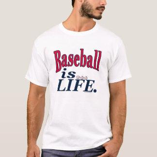 Baseball is Life by Mudge Studios T-Shirt