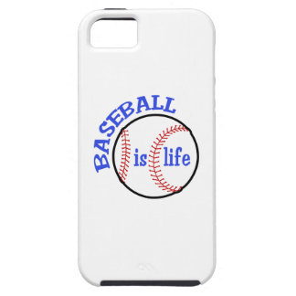 BASEBALL IS LIFE iPhone 5 COVERS