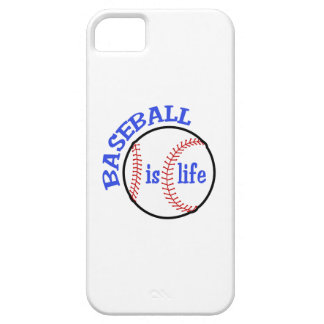 BASEBALL IS LIFE iPhone 5 CASES