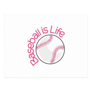 Baseball is Life Postcard