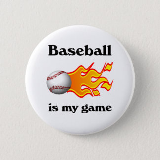 Baseball Is My Game Button