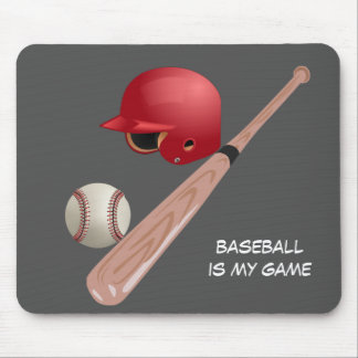Baseball is My Game Mouse Pad