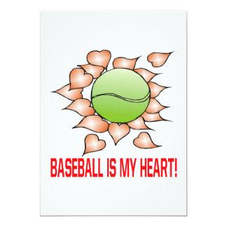 Baseball Is My Heart Card