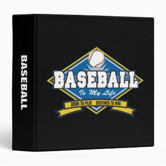 Baseball is My Life Binder
