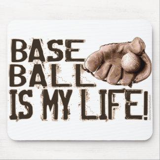 Baseball Is My Life! Glove Mousepad