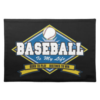 Baseball is My Life Placemat