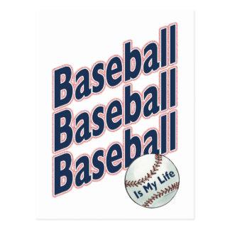 Baseball Is My Life Postcard