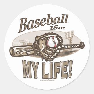 Baseball is…My Life! Sticker