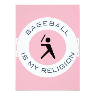 BASEBALL ISMY RELIGION CARD