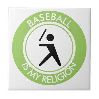 BASEBALL ISMY RELIGION TILE