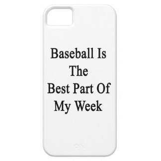 Baseball Is The Best Part Of My Week iPhone 5 Cover