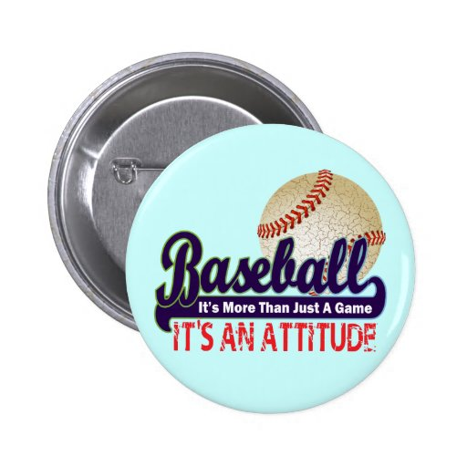 BASEBALL - IT'S MORE THAN JUST A GAME PINBACK BUTTONS