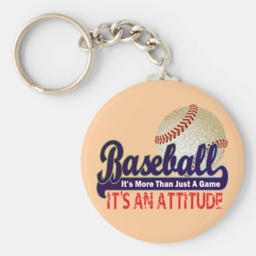 BASEBALL - IT'S MORE THAN JUST A GAME KEYCHAINS