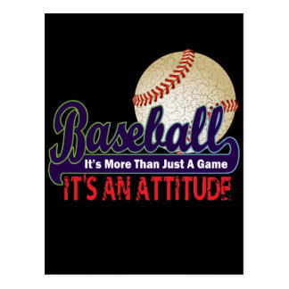 BASEBALL - IT'S MORE THAN JUST A GAME POSTCARD