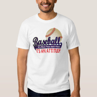 BASEBALL - IT'S MORE THAN JUST A GAME T SHIRT
