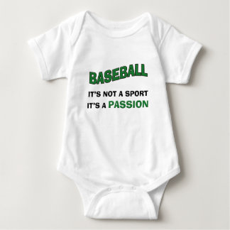 BASEBALL It's Not a Sport...It's a Passion Baby Bodysuit