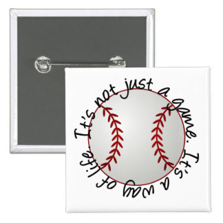 Baseball-its not just a game button
