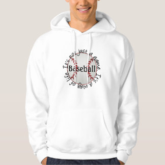 Baseball-its not just a game hoodie