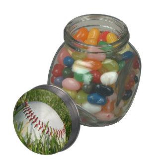Baseball Jelly Belly Candy Jars