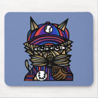 """""""Baseball Kat"""" Mousepad"""