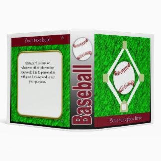 baseball keeper 3 ring binder