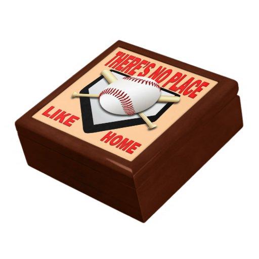 Baseball Keepsake Jewelry Gift Box