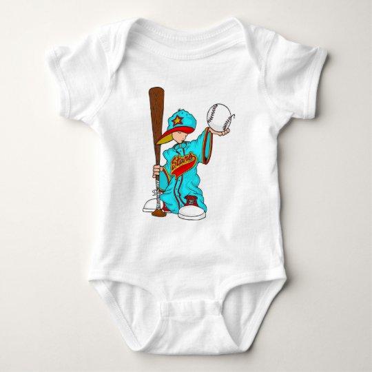 Baseball kid baby bodysuit