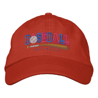 Baseball Kid Embroidered Baseball Hat