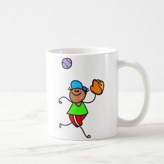 Baseball Kid Coffee Mugs
