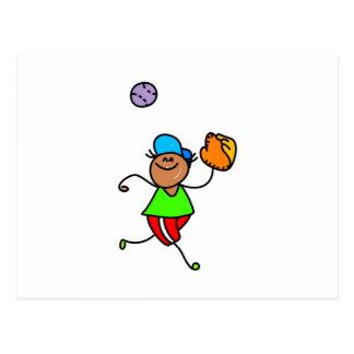 Baseball Kid Postcard