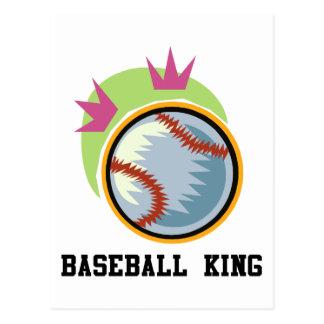 Baseball King Postcard