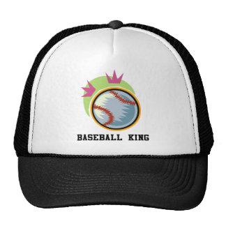 Baseball King Trucker Hat