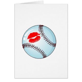 Baseball (Kiss) Card
