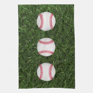 Baseball kitchen towel