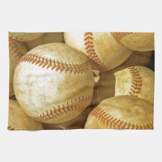 Baseball Hand Towels
