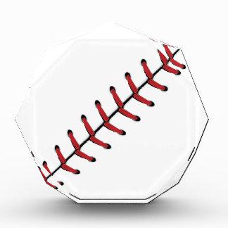 Baseball Lace Background 3 Acrylic Award