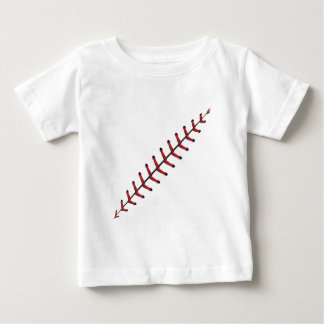 Baseball Lace Background 3 Baby T-Shirt