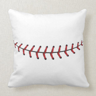 Baseball Lace Background 4 Throw Pillow