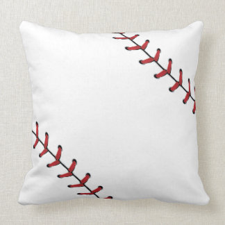 Baseball Lace Background 5 Throw Pillow