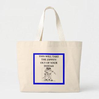 baseball large tote bag