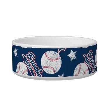 USA Themed Baseball league bowl