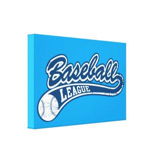 Baseball League Canvas Print