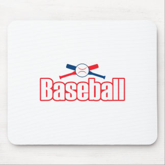 BASEBALL LETTERING MOUSE PADS