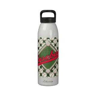 Baseball Liberty Water Bottle