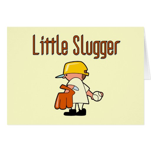 Baseball Little Slugger T-shirts and Gifts Cards
