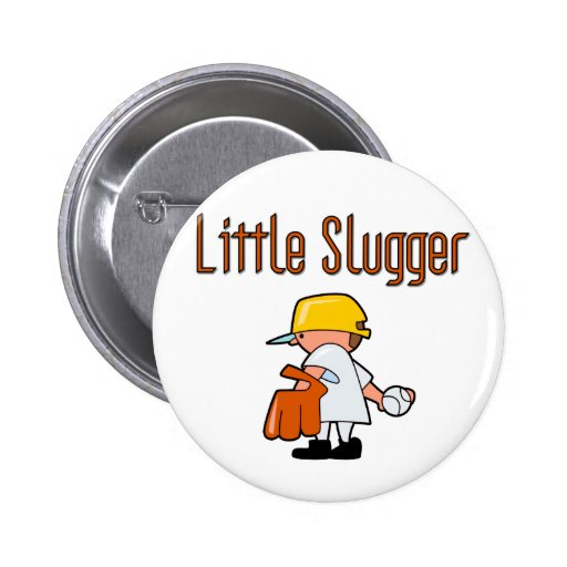 Baseball Little Slugger T-shirts and Gifts Pins